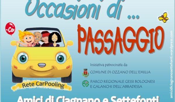 Occasioni di… Passaggio (Comune di Ozzano dell'Emilia)