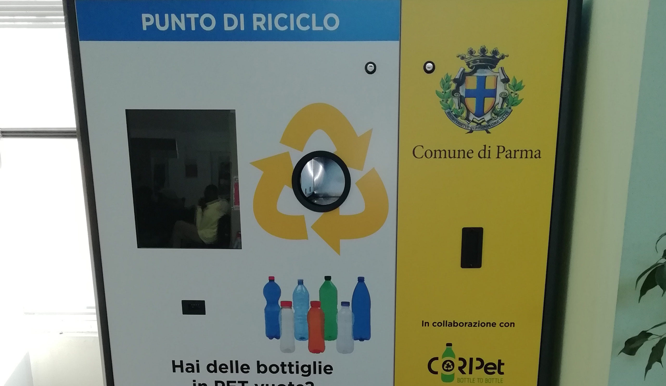 Bottle to Bottle a Parma