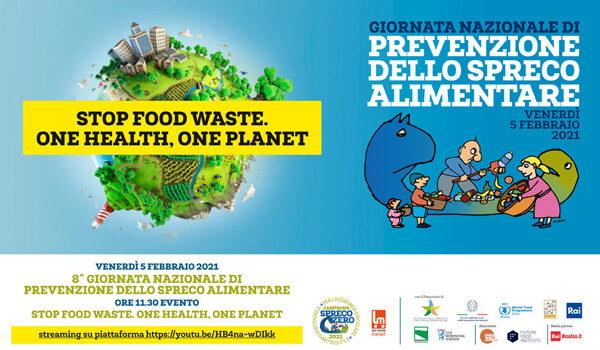 5 febbraio 2021- VII giornata nazionale di prevenzione dello spreco alimentare